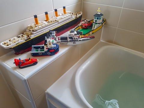 DO LEGO BOATS FLOAT ???