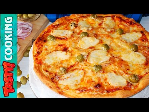 BBQ Chicken Pizza Recipe ♥ How To Make Ultimate Homemade BBQ Chicken Pizza ♥ Tasty Cooking