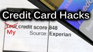 My Credit Score 848 Credit Card Hacks And How I Got It