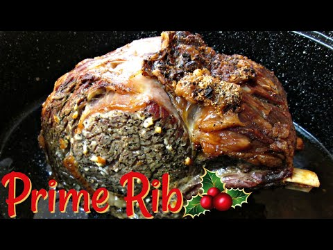 Prime Rib - Standing Rib Roast - PoorMansGourmet