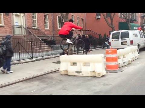 BMX RUN thru SOHO NYC