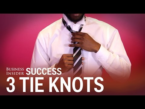 3 tie knots that are perfect for the office