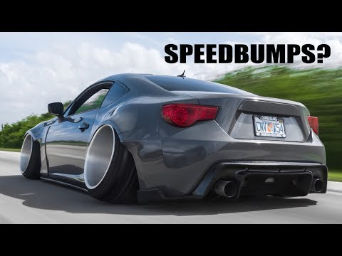 How To Drive A Lowered/Slammed Car!