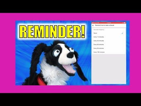 YouTube's New Take a Break Reminder:  Sullivan Spaniel