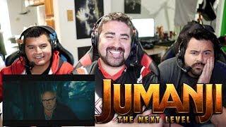Jumanji: The Next Level - Angry Trailer Reaction!