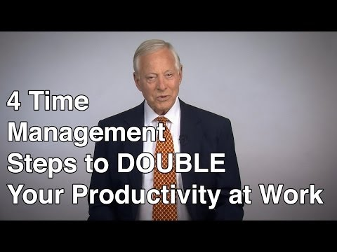 4 Time Management Steps to DOUBLE Your Productivity at Work
