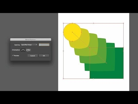 How to Work with Blended Objects | Adobe Illustrator