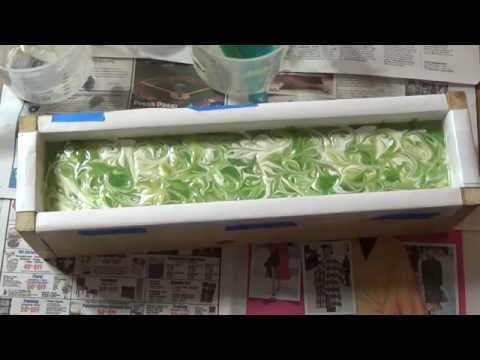 Making Apple Delight Olive Oil Vegan Silk Soap