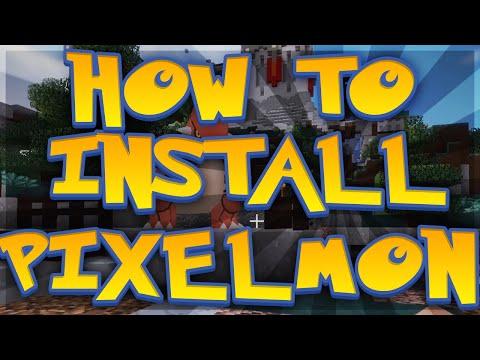 How to Install Pixelmon for the aDrive Pixelmon Server!