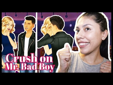MY FIRST KISS WITH MY DREAM CRUSH !- CRUSH ON MR. BAD BOY (Episode) - App Game