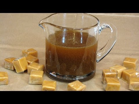 Salted Caramel Sauce -- Lynn's Recipes