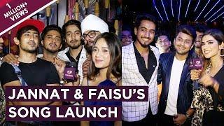 Jannat & Faisu's Tere Bin Kive Launch | Team 07, Ramji, Awez, Nagma, Zain, Ashnoor & More