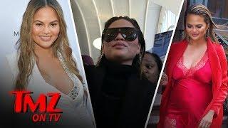 Chrissy Teigen Gives Birth!!! | TMZ TV