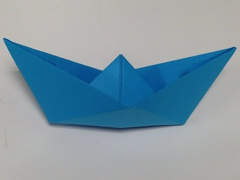 Easy to Fold - Paper Boat - Origami