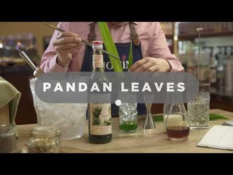 Pandan Iced Latte with MONIN Pandan syrup - English