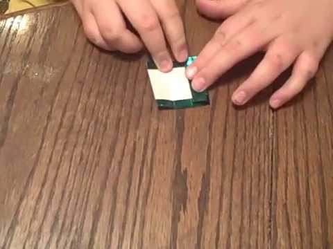 How to make an origami good luck charm