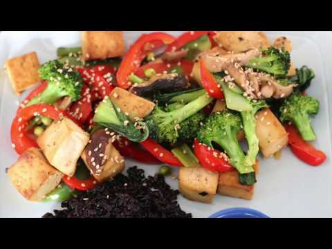 TOFU STIR FRY WITH VEGETABLES CHINESE TAKE OUT RECIPE