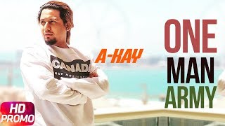 Promo | One Man Army | A Kay | Full Video Coming Soon | Speed Records