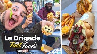 MAXI GAUFRES pour le RETOUR de la BRIGADE des FAST FOODS!  - VLOG #988