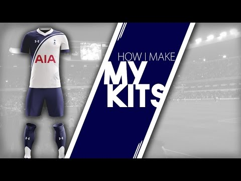 FOOTBALL MANAGER 2017 | HOW I MAKE MY KITS PHOTOSHOP TUTORIAL