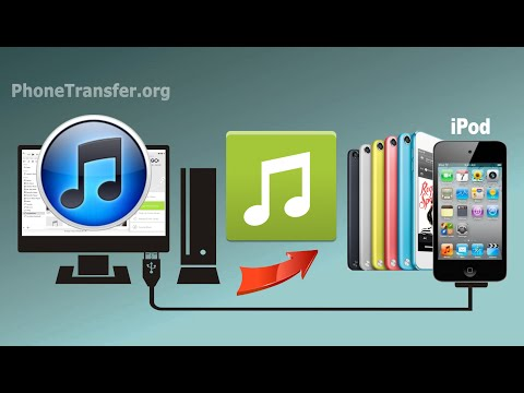 How to Sync Music & Playlist from iTunes to iPod Touch, iTunes Songs to iPod Touch