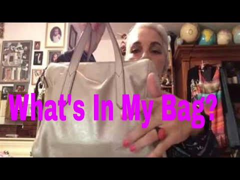 What's In My Two Thrifted Purses- Haul and REVIEW. Fossil and TANO BAG