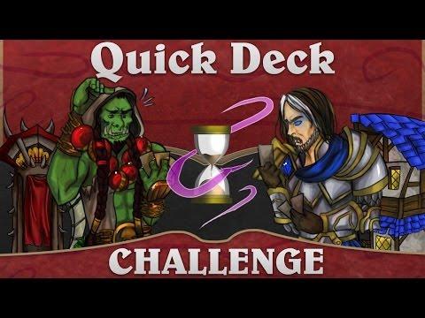 Hearthstone Quick Deck Challenge: Dragon Gathering!