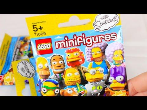 Lego Simpsons Blind Bag Opening