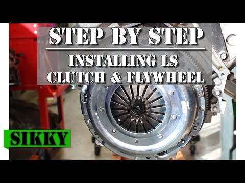 How To Install A Clutch Flywheel and Pilot Bearing In Your LS Engine SIKKY Manufacturing