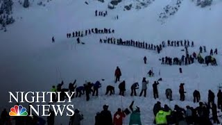 Download Desperate Search For Survivors Buried In New Mexico Avalanche | NBC Nightly News Video