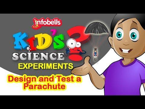 Test a Parachute | Kids Science Experiments | Infobells