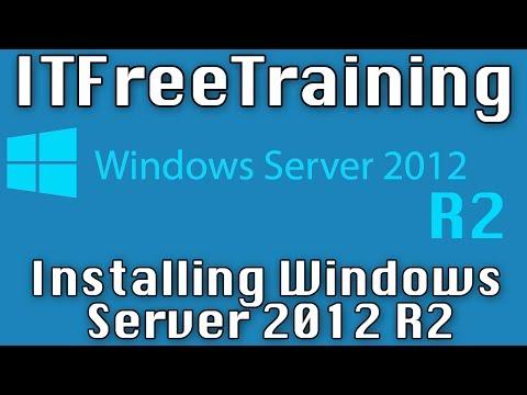 Installing Windows Server 2012 R2