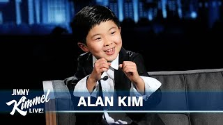 8-Year-Old Alan Kim on Minari Golden Globe Win