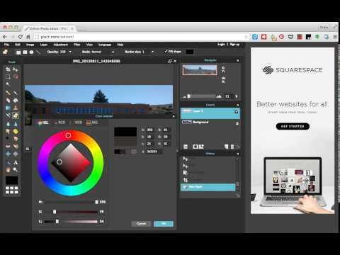 Pixlr Chrome App Tutorial