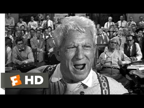 Inherit the Wind (1960) - Fanaticism and Ignorance Scene (5/12) | Movieclips