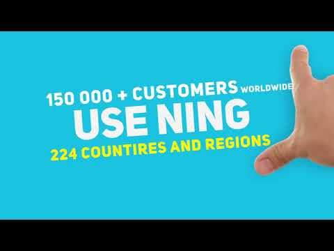 Create a social website with NING