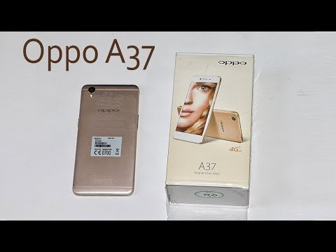 Unboxing of Oppo A37 Gold & Hands on Review