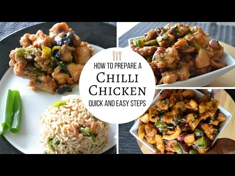 Chilli Chicken Dry   Quick & Easy Recipe