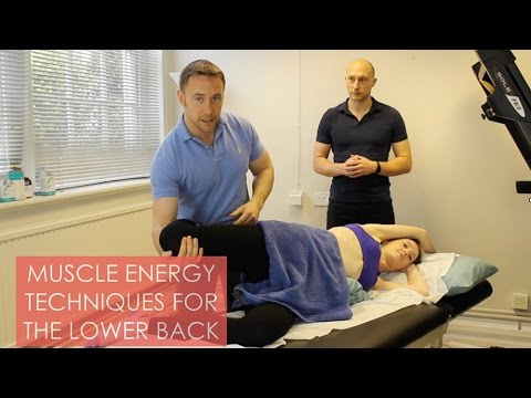 Muscle Energy Technique For The Lower Back