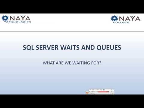 Adi Cohen: Performance Improvement Done with SQL Server Waits and Queues
