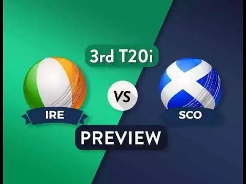 IRE VS SCO DREAM11 PREDICTIONS 3rd ODI   IRELAND VS SCOTLAND  DREAM11 TEAM