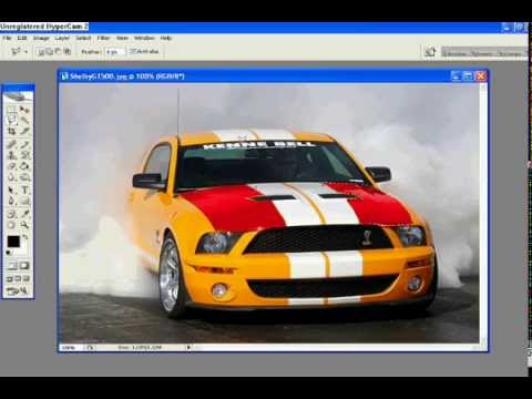 How to change the color of a car using photoshop