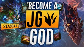 5 Steps To Become A JUNGLE GOD In Season 11 | Ultimate Tips To Climb League of Legends