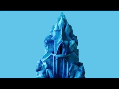 How To Make Queen Elsa's Ice Castle From Frozen