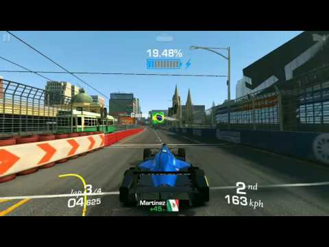 Formula E - High Voltage - Stage 02 - Charge Your Battery - Goal 2 of 3 - Gameplay