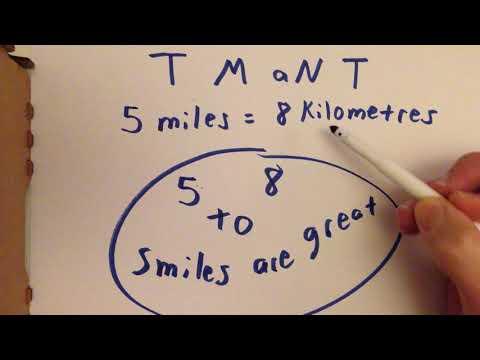 Memory Trick for Converting Miles to Kilometres