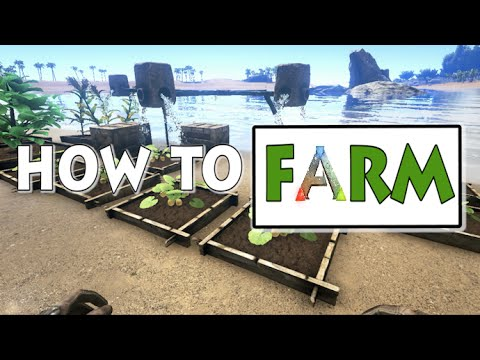 ARK : Survival Evolved || Ark's Kitchen #2 (Farming tutorial feat. compost bins and irrigation)