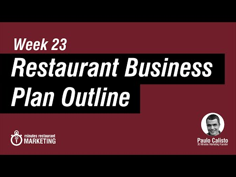 Restaurant Business Plan ( pdf checklist to download )