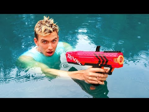 NERF RIVAL UNDERWATER TEST!!