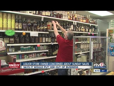 Liquor store owners concerned about Sunday sales